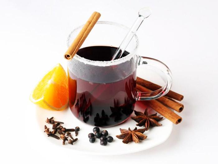 Глінтвейн з кавою