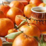 Кава та мандарини