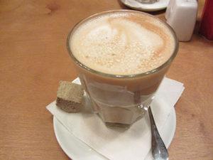 Кава з халвою