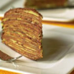 Торт з млинців та кавовим кремом