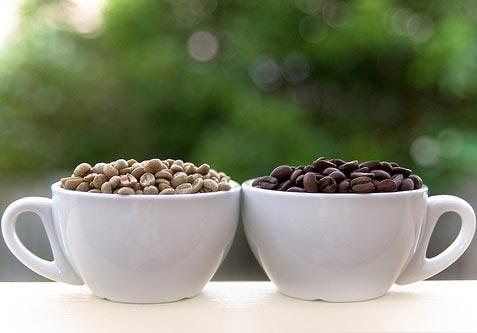 Приготування зеленогї кави