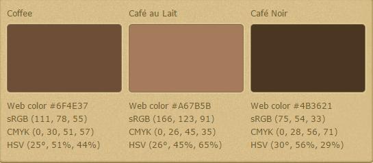 колір кави